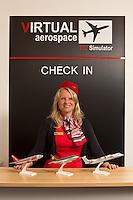 Amanda Furber of Virtual Aerospace, Northampton