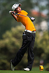 Yuki Shino of Japan in action on day 3 of the 9th Faldo Series Asia Grand Final 2014 golf tournament on March 20, 2015 at Faldo course in Mid Valley Golf Club in Shenzhen, China. Photo by Xaume Olleros / Power Sport Images