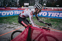 World Cup leader Michael Vanthourenhout (BEL/Pauwels Sauzen-Bingoal)<br /> <br /> UCI cyclo-cross World Cup Dendermonde 2020 (BEL)<br /> <br /> ©kramon