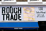 Rough Trade record shop Notting Hill London W11 1999 1990s.