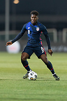 WIENER NEUSTADT, AUSTRIA - MARCH 25: Yunus Musah #8 of the United States during a game between Jamaica and USMNT at Stadion Wiener Neustadt on March 25, 2021 in Wiener Neustadt, Austria.