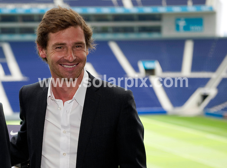**EXCLUSIVE PICTURES FROM SOLARPIX.COM**                                             **WORLDWIDE SYNDICATION RIGHTS**                                                                                  Caption:.Feature on the life story New Manager of Chelsea FC Andre Villas-Boas from Porto in Portugal.                                                                               This pic: Andre Villas-Boas at his presentation as Porto's coach, June 4, 2010. .Porto, Portugal, June 23, 2011                                                                                             JOB REF: 13609       PDP       DATE:24.06.2011                                                            **MUST CREDIT SOLARPIX.COM OR DOUBLE FEE WILL BE CHARGED**                                                                      **MUST AGREE FEE BEFORE ONLINE USAGE**                               **CALL US ON: +34 952 811 768 or LOW RATE FROM UK 0844 617 7637**
