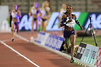5th September 2020, Brussels, Netherlands;  Kenyas Faith Kipyegon competes during the 1000m Women at the Diamond League Memorial Van Damme athletics event at the King Baudouin stadium in Brussels, Belgium.