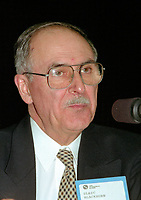 Montreal (qc) CANADA - file Photo - 1992 - <br /> <br /> <br /> 'Union des Municipalites du Quebec convention in April - Ulric Blackburn, Mayor Chicoutimi