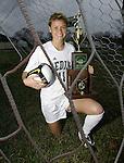 Medina's Becca Chandler is the 2009 Gazette girls soccer MVP. (RON SCHWANE / GAZETTE)