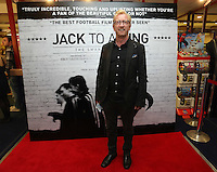 """Pictured: Actor Steffan Rhodri. Sunday 14 September 2014<br /> Re: Film premiere of """"Jack To A King"""" depicting the recent history pf Swansea City Football Club, at the Odeon Cinema, Swansea, south Wales, UK."""