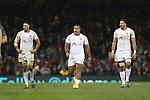 Tukulua Lokotui, Taione Vea & Joe Tuineau<br /> <br /> Dove Men Series 2013<br /> Wales v Tonga<br /> Millennium Stadium - Cardiff<br /> 22.11.13<br /> ©Steve Pope-SPORTINGWALES