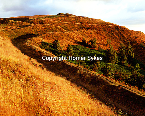The British Camp. Little Malvern, Hereford and Worcester, England. Celtic Britain published by Orion. A huge Iron Age hillfort covering thirteen hectares, excavations suggest that this was the site of a permanent village of over 2,000 people for some conciderable time.
