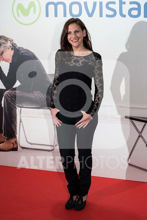 "Malena Alterio attends to the premire of the film ""Que fue de Jorge Sanz"" at Cinesa Proyecciones in Madrid. February 10, 2016."