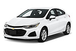 2019 Chevrolet Cruze LT 5 Door Hatchback Angular Front stock photos of front three quarter view