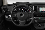 Car pictures of steering wheel view of a 2020 Opel Zafira-Life Business-Innovation 5 Door Mini Van