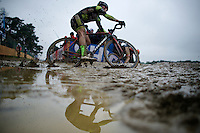 Sascha Weber (DEU/Veranclassic-Doltcini)<br /> <br /> Zolder CX UCI World Cup 2014