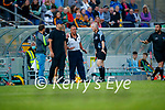 during the County Senior hurling Semi-Final between Kilmoyley and Lixnaw at Austin Stack park on Saturday evening.