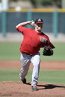 Arizona Diamondbacks pitcher Kyle Schepel (31) during an instructional league game against the San Francisco Giants on October 3, 2013 at Giants Baseball Complex in Scottsdale, Arizona.  (Mike Janes/Four Seam Images)