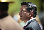 Nevada Gov. Brian Sandoval participates in the Law Enforcement Officers Memorial ceremony Thursday morning, May 5, 2011, on the Capitol grounds in Carson City, Nev..Photo by Cathleen Allison