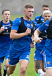 St Johnstone Training….29.06.19   McDiarmid Park, Perth<br />Liam Gordon pictured during a training run<br />Picture by Graeme Hart.<br />Copyright Perthshire Picture Agency<br />Tel: 01738 623350  Mobile: 07990 594431