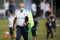 10th November 2020; Granja Comary, Teresopolis, Rio de Janeiro, Brazil; Qatar 2022 qualifiers; Tite manager of Brazil during training session in Granja Comary