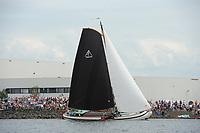 ZEILSPORT: LEMMER: 16-08-2017, SKS Skûtsjesilen, Lemmer 1, ©foto Martin de Jong