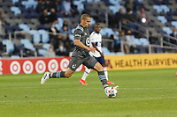 SAINT PAUL, MN - MAY 12: Osvaldo Alonso #6 of Minnesota United FC with the ball during a game between Vancouver Whitecaps and Minnesota United FC at Allianz Field on May 12, 2021 in Saint Paul, Minnesota.