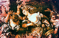 Venice:  Palazzo Ducale--The Rape of Europe, Paolo Veronese, artist.  Reference only.