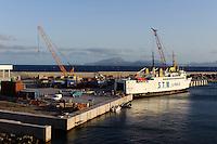 Fährhafen in Porto Novo, Santo Antao, Kapverden, Afrika