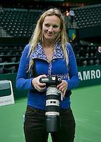 Rotterdam, The Netherlands. 16.02.2014. Anne Reitsma<br /> Photo:Tennisimages/Henk Koster