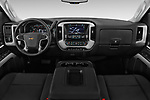 Stock photo of straight dashboard view of 2017 Chevrolet Silverado-3500HD LT-Crew-DRW 4 Door Pickup Dashboard