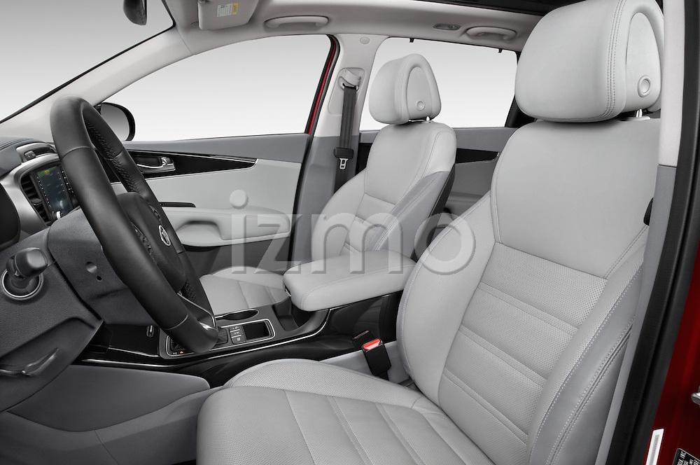 Front seat view of 2017 KIA Sorento SX V6 AT 4WD 5 Door SUV Front Seat  car photos