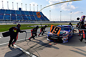 NASCAR XFINITY Series<br /> TheHouse.com 300<br /> Chicagoland Speedway, Joliet, IL USA<br /> Saturday 16 September 2017<br /> Matt Tifft, TMNT Lone Rat & Cub/ABTA Toyota Camry makes a pit stop, Sunoco<br /> World Copyright: Logan Whitton<br /> LAT Images