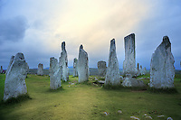 SC -OUTER HEBRIDES - ISLAND OF LEWIS<br /> Unesco World Heritage Callanish Standing Stones<br /> <br /> Full size: 69,2 MB