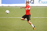Atletico de Madrid's Antoine Griezmann during Champions League 2015/2016 training session. May 27,2016. (ALTERPHOTOS/Acero)