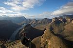 Panorama sur les Three Rondavels, Blyde River canyon Blyde River canyon