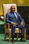 General Assembly Seventy-fourth session, 7th plenary meeting<br /> <br /> <br /> His Excellency Evaristo do Espirito Santo Carvalho, President, Democratic Republic of<br /> Sao Tome and Principe