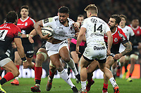 Julian SAVEA of Toulon during the Top 14 match between Toulouse and Toulon at Stade Ernest Wallon on December 29, 2019 in Toulouse, France. (Photo by Manuel Blondeau/Icon Sport) - Julian SAVEA - Stade Ernest-Wallon - Toulouse (France)