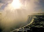 The Horseshoe or Canadian Falls at Niagara Falls, Ontario, Canada