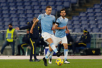 Lazio s Lucas Leiva in action during the Serie A soccer match between Lazio and Hellas Verona at Rome's Olympic Stadium, December 12, 2020.<br /> UPDATE IMAGES PRESS/Riccardo De Luca