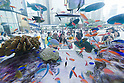 Sony Building celebrates its 50th Anniversary with annual Outdoor Aquarium in Ginza