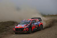 21st May 2021, Arganil, Portugal. WRC Rally of Portugal;  Thierry Neuville-Hyundai i20WRC