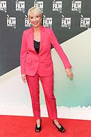 "Emma Thompson<br /> arriving for the London Film Festival 2017 screening of ""The Meyerowitz Stories"" at the Embankment Gardens Cinema, London<br /> <br /> <br /> ©Ash Knotek  D3319  06/10/2017"