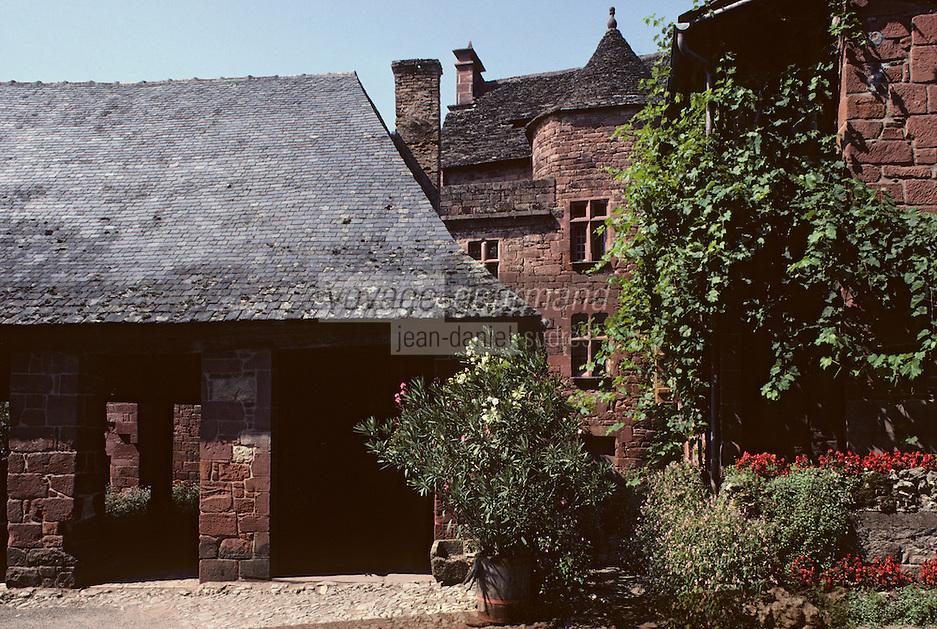 Europe/France/Limousin/19/Corrèze/Collonges-la-Rouge: Vieille halle