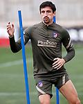 Atletico de Madrid's Stefan Savic during training session. February 25,2021.(ALTERPHOTOS/Atletico de Madrid/Pool)