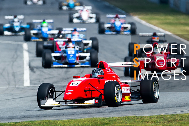 Jake Parson of Australia and Meritus GP during the Formula Masters China Series as part of the 2015 Pan Delta Super Racing Festival at Zhuhai International Circuit on September 20, 2015 in Zhuhai, China.  Photo by Aitor Alcalde/Power Sport Images