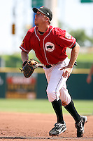 August 22 2008:  Michael Aubrey of the Buffalo Bisons, Class-AAA affiliate of the Cleveland Indians, during a game at Dunn Tire Park in Buffalo, NY.  Photo by:  Mike Janes/Four Seam Images
