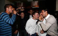 "Viktor Troicki, Novak Djokovic, Players Party, Novak restaurant, ATP 250 series tennis tournament ""Serbia Open"" in Belgrade, Serbia, Tuesday, April 26. 2011. (photo: Pedja Milosavljevic / SIPA PRESS)"