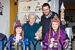 Amber O'Connell, Kitty O'Donoghue, Patrick and Grace O'Connell enjoying the Christmas fair in Moriarty's furniture Killorglin on Sunday
