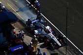 Verizon IndyCar Series<br /> IndyCar Grand Prix<br /> Indianapolis Motor Speedway, Indianapolis, IN USA<br /> Saturday 13 May 2017<br /> Ed Jones, Dale Coyne Racing Honda pit stop<br /> World Copyright: Phillip Abbott<br /> LAT Images<br /> ref: Digital Image abbott_indyGP_0517_4892