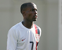 DaMarcus Beasley. The USA defeated China, 4-1, in an international friendly at Spartan Stadium, San Jose, CA on June 2, 2007.