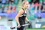 The Hague, Netherlands, June 05: Rose Keddell #24 of New Zealand looks on during the field hockey group match (Women - Group A) between New Zealand and The Netherlands on June 5, 2014 during the World Cup 2014 at Kyocera Stadium in The Hague, Netherlands. Final score 0-2 (0-2) (Photo by Dirk Markgraf / www.265-images.com) *** Local caption ***