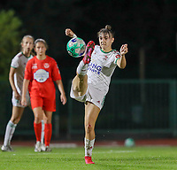 Zenia Mertens (6) of OHL in action during a female soccer game between FC Femina White Star Woluwe and Oud Heverlee Leuven on the fourth matchday in the 2021 - 2022 season of Belgian Scooore Womens Super League , Friday 10 th of September 2021  in Woluwe , Belgium . PHOTO SPORTPIX   SEVIL OKTEM