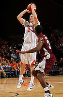 CHARLOTTESVILLE, VA- December 27: Paul Jesperson #2 of the Virginia Cavaliers handles the ball during the game against the Maryland-Eastern Shore Hawks on December 27, 2011 at the John Paul Jones Arena in Charlottesville, Va. Virginia defeated Maryland Eastern Shore 69-42.  (Photo by Andrew Shurtleff/Getty Images) *** Local Caption *** Paul Jesperson